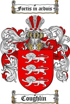 1000+ images about Coughlin Coat of Arms/ Coughlin Family ...