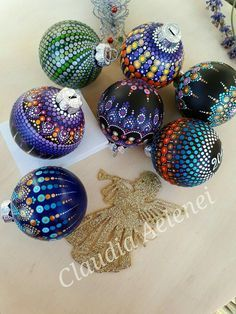 Decorated ornaments