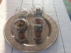 DIY glazen pot met cactus
