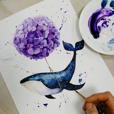 Colorful Animal Art Pictures 53 Ideas For 2019 Watercolor Print, Watercolour Painting, Painting & Drawing, Illustration Art, Illustrations, Art Pictures, Art Inspo, Art Drawings, Cool Art