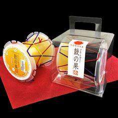 鼓の果(大) | 御菓子処 鼓 | 金沢の水菓子店(ゼリー)。株式会社鼓 Packaging Design, Product Packaging, Japanese Sweets, Cakes And More, Container, Gifts, Japanese Candy, Favors, Package Design