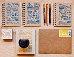 save the date stamp - Streger design