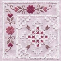 ... stitched on 22 hpi white <b>hardanger</b> fabric this <b>hardanger</b> <b>kit</b> contains