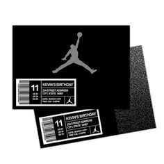 Personalized Jordan's Jordan Jordan's Shoebox by ChaliceTee