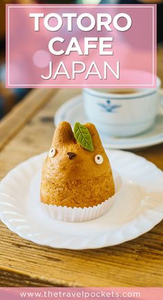 If you're a fan of Totoro, you need to visit this cute cafe in Japan. The most adorable cream puff desserts in the world!