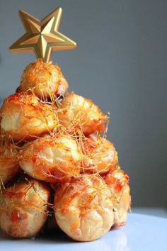 Croquembouche. Yeah that's right, it's going to be amazing...hopefully. Not sure yet that I will be using this exact recipe.