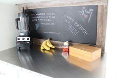 Blending Station + Chalk Board