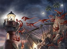 The Island of Terror_Full by gjsx51.deviantart.com on @deviantART