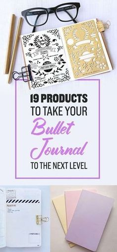 19 Products To Help You Take Your Bullet Journal To The Next Level -- Adding some accessories to your planning routine is a total game changer when it comes to DIY planners and bullet journaling!