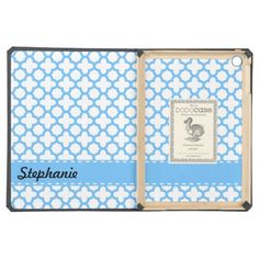 >>>Smart Deals for          	Blue Quatrefoil Pattern iPad Air Case           	Blue Quatrefoil Pattern iPad Air Case We have the best promotion for you and if you are interested in the related item or need more information reviews from the x customer who are own of them before please follow the l...Cleck Hot Deals >>> http://www.zazzle.com/blue_quatrefoil_pattern_ipad_air_case-256358956380962047?rf=238627982471231924&zbar=1&tc=terrest