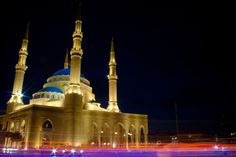 Muhammad al-Amin Mosque in Beirut Lebanon