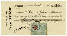 Vintage French Invoice and Cheque Collage Vintage, Vintage Prints, Vintage Posters, Images Vintage, French Vintage, Vintage Labels, Vintage Ephemera, Decoupage, Quote Collage