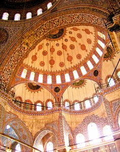 pattern . perspective / Blue Mosque