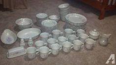 Pfaltzgraff Dishes Tea Rose china/dishes set Good Condition - $100 (Saint Peter, MN)
