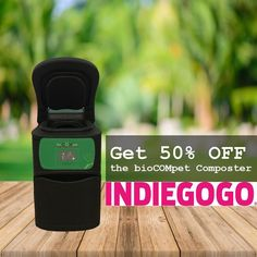 Fund our @indiegogo #campaign with $250 and get the #bioCOMpet Home Pet Waste Composter and a year warranty! That is 50% OFF! Please DM us if you would like more information on the Composter. Indiegogo campaign link in bio. #green #compost #technology #greentech #zerowaste #plasticfree #biodegradable #sustainable #ecofriendly #earth #planet #degrade #zerotrace