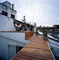 Dachterrasse des LOFT34 in Argentinien_Gestaltet vom Team Najmias office for architecture um Oliverio Najmias - Perfekt!