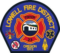 Lowell Fire District (OR) Fire Patch #FirePatch #Firefighting #Firefighters #Setcom
