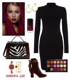 """""""#Huda beauty"""" by georgialeebeauty on Polyvore featuring Phase Eight, Mulberry, Chloé, Anne Klein, Chanel and Huda Beauty"""