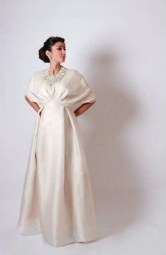 Abaya Style Wedding Dress