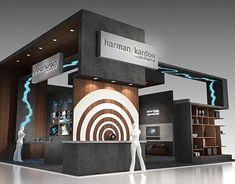"""Check out new work on my @Behance portfolio: """"HARMAN Booth"""" http://be.net/gallery/61055475/HARMAN-Booth"""