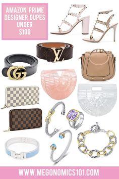Online Designer Bag Shopping: Buy Smarter, Faster And Cheaper. Valentino Rockstud, Amazon Buy, Best Amazon, Amazon Purchases, Chloe Bag, Louis Vuitton Wallet, Louis Vuitton Handbags, Dupes, Celine