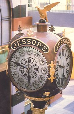 1907 Jessop Street Clock.  Has only stopped 4 times: once which was on 3/22/1935, the day of its builders death (Ripley's Believe It or Not)