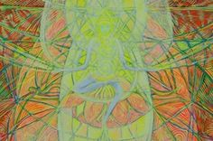 Maytreya's crystal Meditation, Crystal, Spaces, Drawings, Illustration, Artist, Pictures, Painting, Image