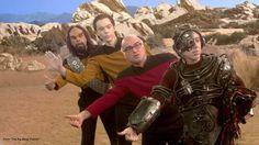 Big Bang Theory and Star Trek collab!