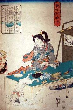 【浮世絵】江戸時代のネコ好きが描いた絵 国芳