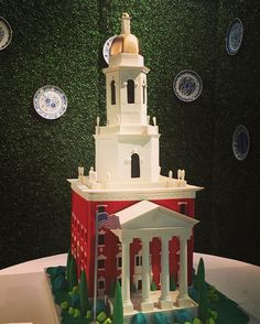 Baylor Pat Neff Hall groom's cake. This is so spot-on! #SicEm