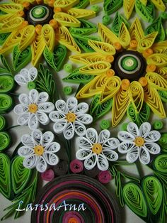 Flowers-Quilling