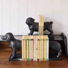 The Dog Bookends from Graham & Green