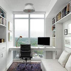 521 best Small Offices images on Pinterest in 2018 | Desk, Home ...