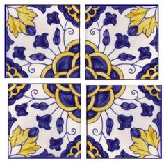 Portuguese tiles. The basis for my Portugal earring and pendant designs.