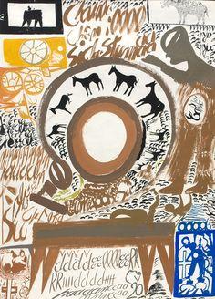 Outsider Folk Art Gallery - Outsider Art | Carlo Zinelli | CZ001 (Front)