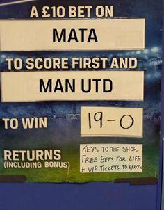 Articole Stiri pe PariuriX.com: Ai visat vreodată să câștigi o casă de pariuri? Un operator britanic a venit cu o ofertă nebună la meciul Man. United vs Bournemouth!