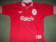 1996 1998 Liverpool Adults Medium Home Classic Football Shirt Vintage  Soccer Jersey Liverpool Soccer 7261ab389