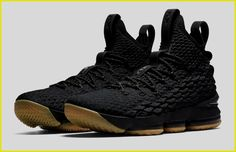 c8c7e23ee4e The Nike LeBron 15 Black Gum is officially introduced and it s dropping on  November
