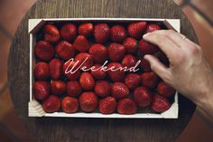 Hello weekend!