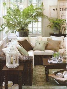 Love the plant in the corner