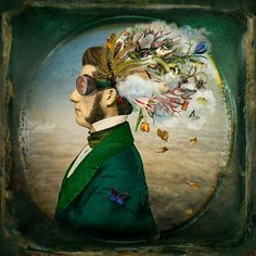 The Burden of Dreams. 2012 | #Maggie Taylor #2012 #photography http://www.pinterest.com/TheLadyApryle/if-there-be-steam/