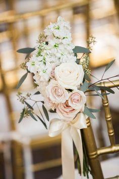 Photography: Justin DeMutiis Photography - http://www.stylemepretty.com/portfolio/justin-demutiis-photography Coordination: Fabulously Chic Weddings - http://www.stylemepretty.com/portfolio/fabulously-chic-weddings Floral Design: Elegant Design - http://www.stylemepretty.com/portfolio/elegant-design   Read More on SMP: http://www.stylemepretty.com/2015/04/08/hint-of-glamour-crosley-estate-wedding/