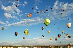 Viajar en globo con mi Esposo