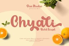 Chyali feels equally charming and elegant. It looks stunning on wedding invitations, thank you cards, quotes, greeting cards, logos, business... Bold Script Font, Handwritten Fonts, All Fonts, Food Packaging, Brand Packaging, Food Font, Typography Logo, Logos, Modern Fonts