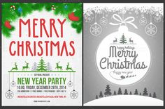 Christmas Cards & Posters - 30% off by Seyyahil on Creative Market