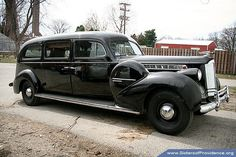 1940 Henney Packard Hearse by Sisters of Providence, Limousin, Police Cars, Police Vehicles, Flower Car, Amazing Cars, Awesome, Rolling Stock, Automotive Art, Ambulance