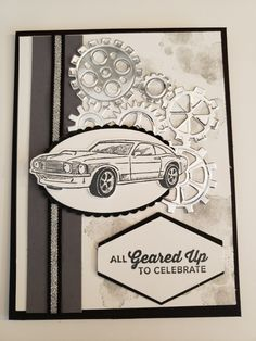 Best Birthday Greetings For Men Stampin Up Ideas birthday 839217711793981352 Birthday Greetings For Father, Birthday Presents For Mom, Cool Birthday Cards, Homemade Birthday Cards, Masculine Birthday Cards, Masculine Cards, Birthday Ideas, Happy Birthday, Birthday Wishes