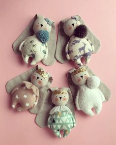 Best 12 Sorry for the bunny spam 🙈 She is just so cute Doll Clothes Patterns, Doll Patterns, Rabbit Crafts, Tilda Toy, Fabric Toys, Tiny Dolls, Sewing Dolls, Stuffed Toys Patterns, Handmade Toys