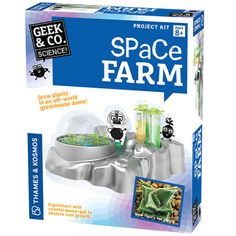 Thames and Kosmos Space Farm Gender: unisex. Science Toys, Science For Kids, Science And Nature, Farm Projects, Creative Play, Gifts For Boys, Cool Toys, Kids Toys, Geek Stuff