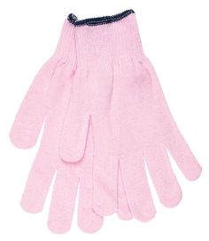 Pink Cotton/Polyester Glove for Breast Cancer Awareness